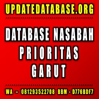 Jual Database Nasabah Prioritas Garut