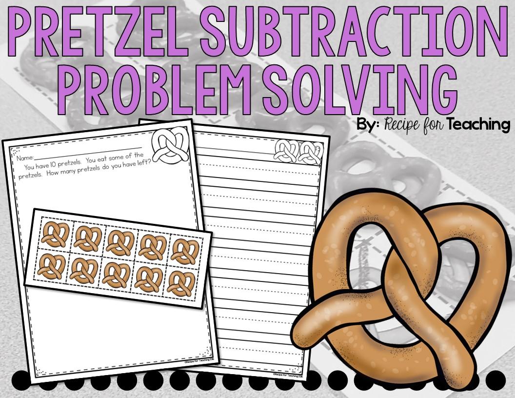 Pretzel Subtraction Problem Solving