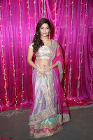 Ritika Sing in Golden Pink Choli Ghagra Cute Actress Ritika Sing ~  015.JPG