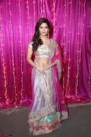 Ritika Sing in Golden Pink Choli Ghagra Cute Actress Ritika Sing ~  015.JPG