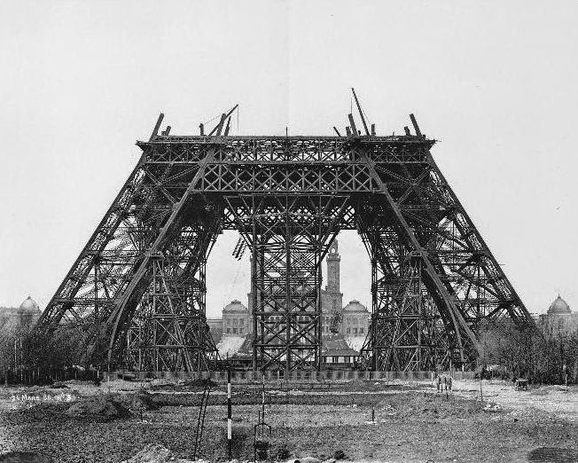 Marzo 1888, Torre Eiffel
