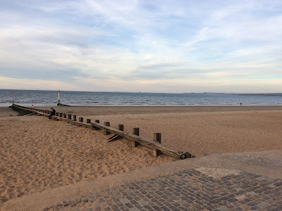 Sea swimming at Portobello
