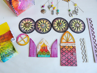 Tutorial: Gipsy Caravan out of upcycled pasta boxes