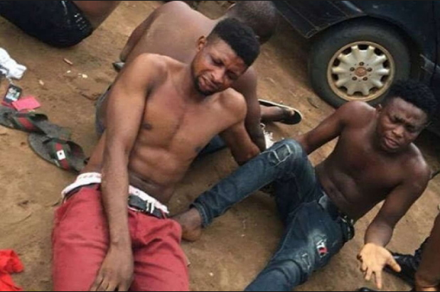 yahoo boys arrested warri delta state