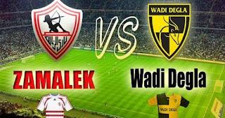 مشاهدة مباراة وادي دجلة والزمالك بث مباشر بتاريخ 01-11-2018 الدوري المصري
