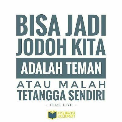 Quote Jodoh Tere Liye