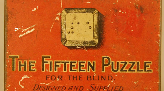 Throwback Thursday Object: The Fifteen Puzzle