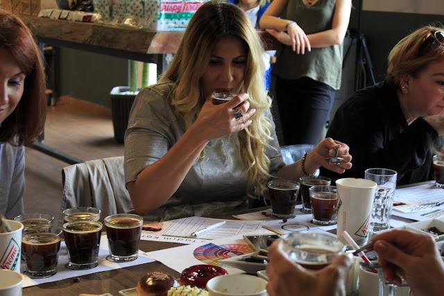 Krispy Kreme Barista Akademi de Kahve Tadımı