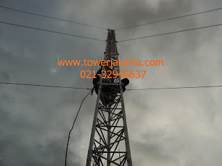 tower triangle, tower triangle murah, pemasangan tower triangle