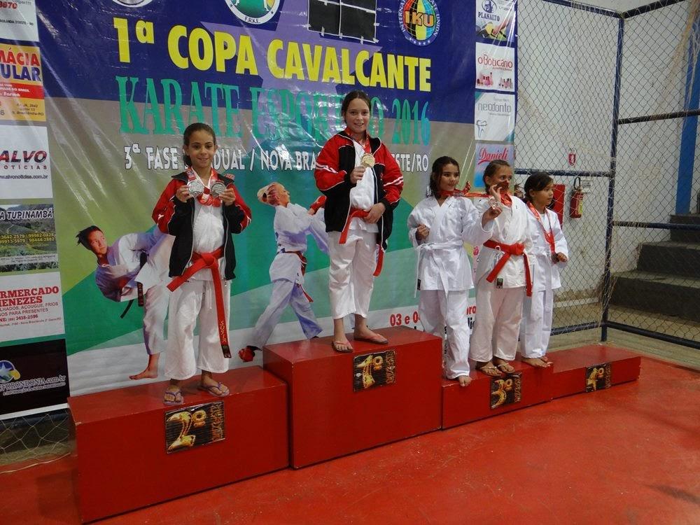 ed7b391c8 Seleção Jiparanaense participa da 1ª Copa Cavalcante de Karatê ...