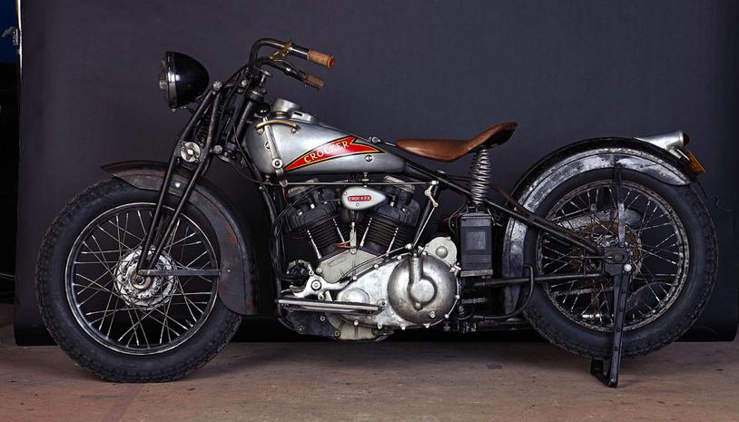 crocker motorcycle motorcycles bike daily company motor 1930s bikes gascapkustom companies saved