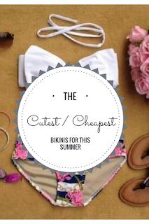 cute cheap summer 2017 bikinis bathing suits