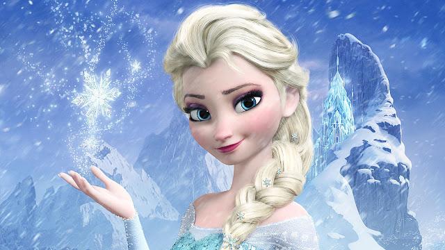 elsa é uma princesa poderosa, corajosa e princesa linda
