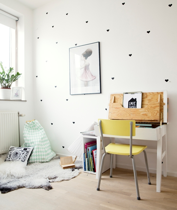 Scandinavian Style Kids Room: My Scandinavian Home: My Little Girls And Their New Bedroom