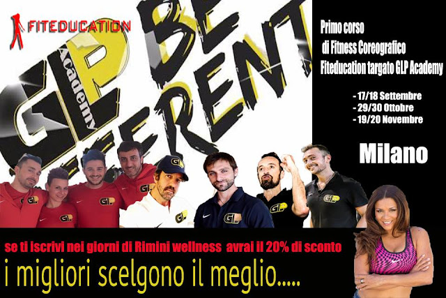 Glp Academy e Fiteducation alleati nel fitness