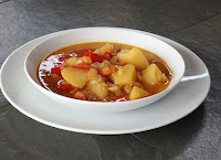 Patatas con verduras
