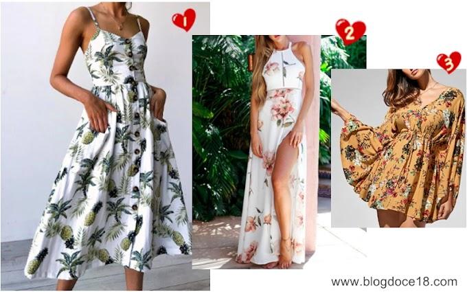 Vestidos Fresquinhos - Loja Gamiss