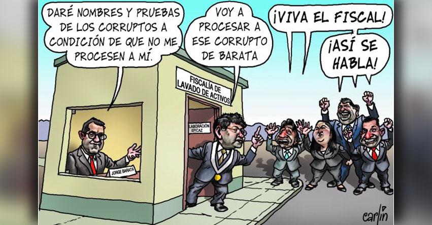 Carlincaturas Lunes 10 Julio 2017 - La República