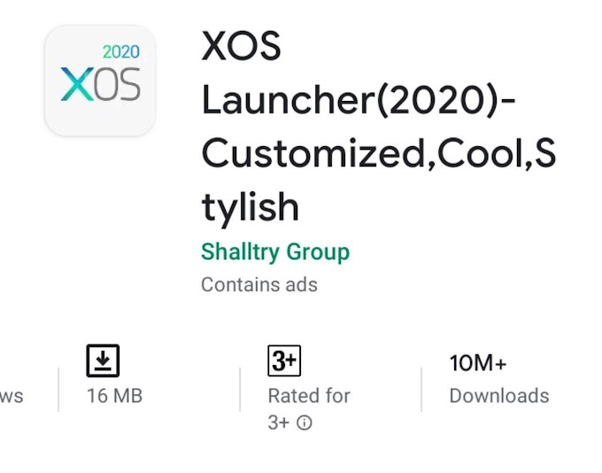 XOS Launcher Pro Apk Download Themes For Android [No ADs]