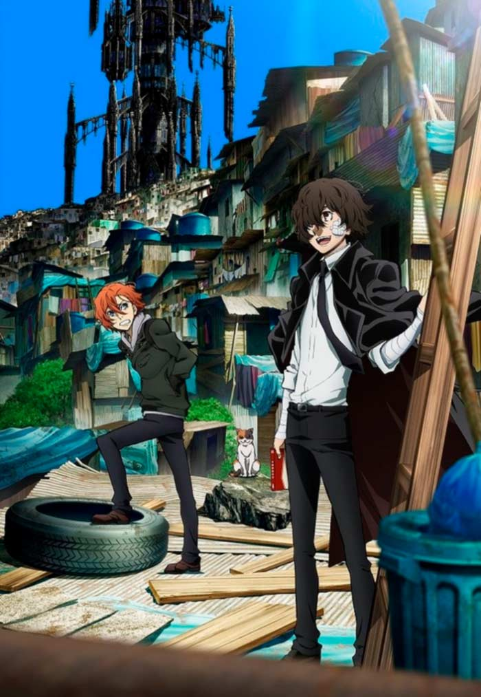 Bungo Stray Dogs anime - temporada 3