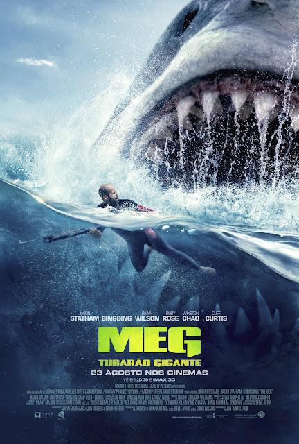 """Passatempo """"Meg - Tubarão Gigante"""" - Convites para as antestreias"""