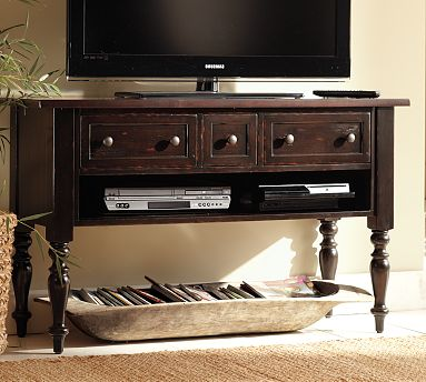 Pottery Barn Leena Media Console Decor Look Alikes