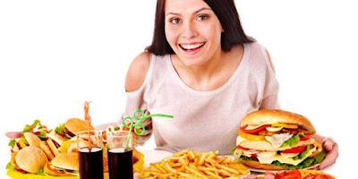 makanan yang dikonsumsi