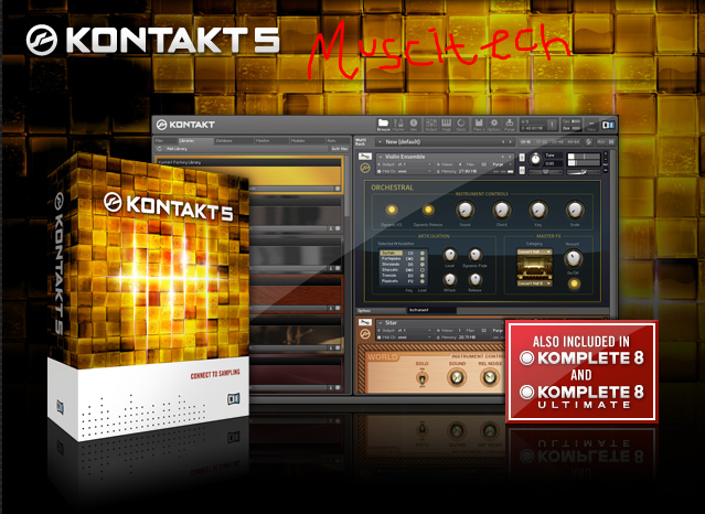 Free Download Native Instrument - Kontakt 5 v5 0 1 Full