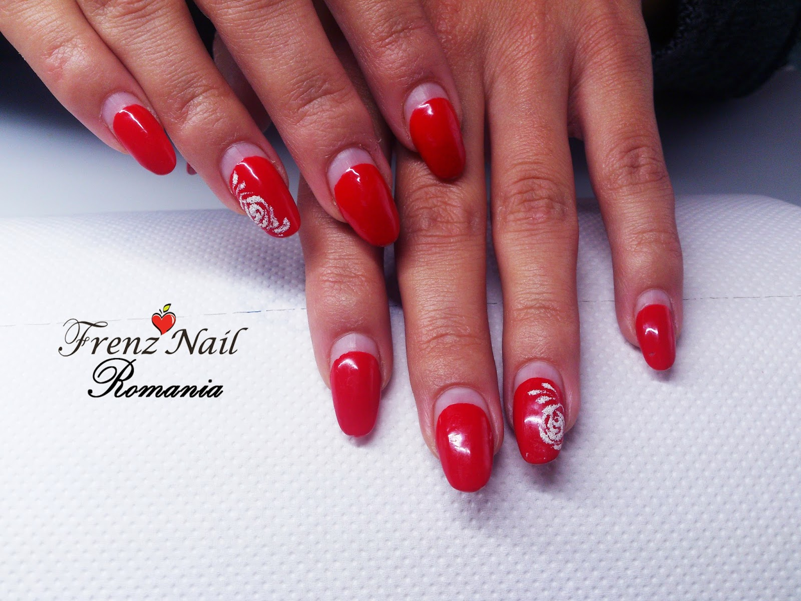 Angies Nails Brasov Frenz Nail Oja Semipermanenta Model French