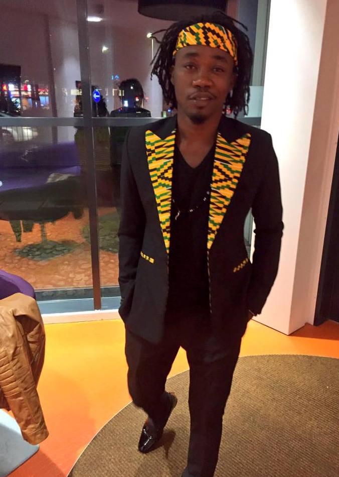 Joel Orleans attends Kente Gala in UK in style