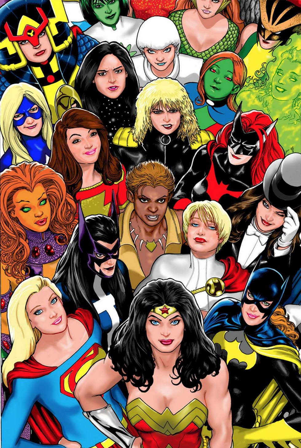 Are available? Female comic characters