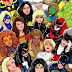 POPULAR FEMALE COMIC BOOK CHARACTERS FROM MARVEL AND DC