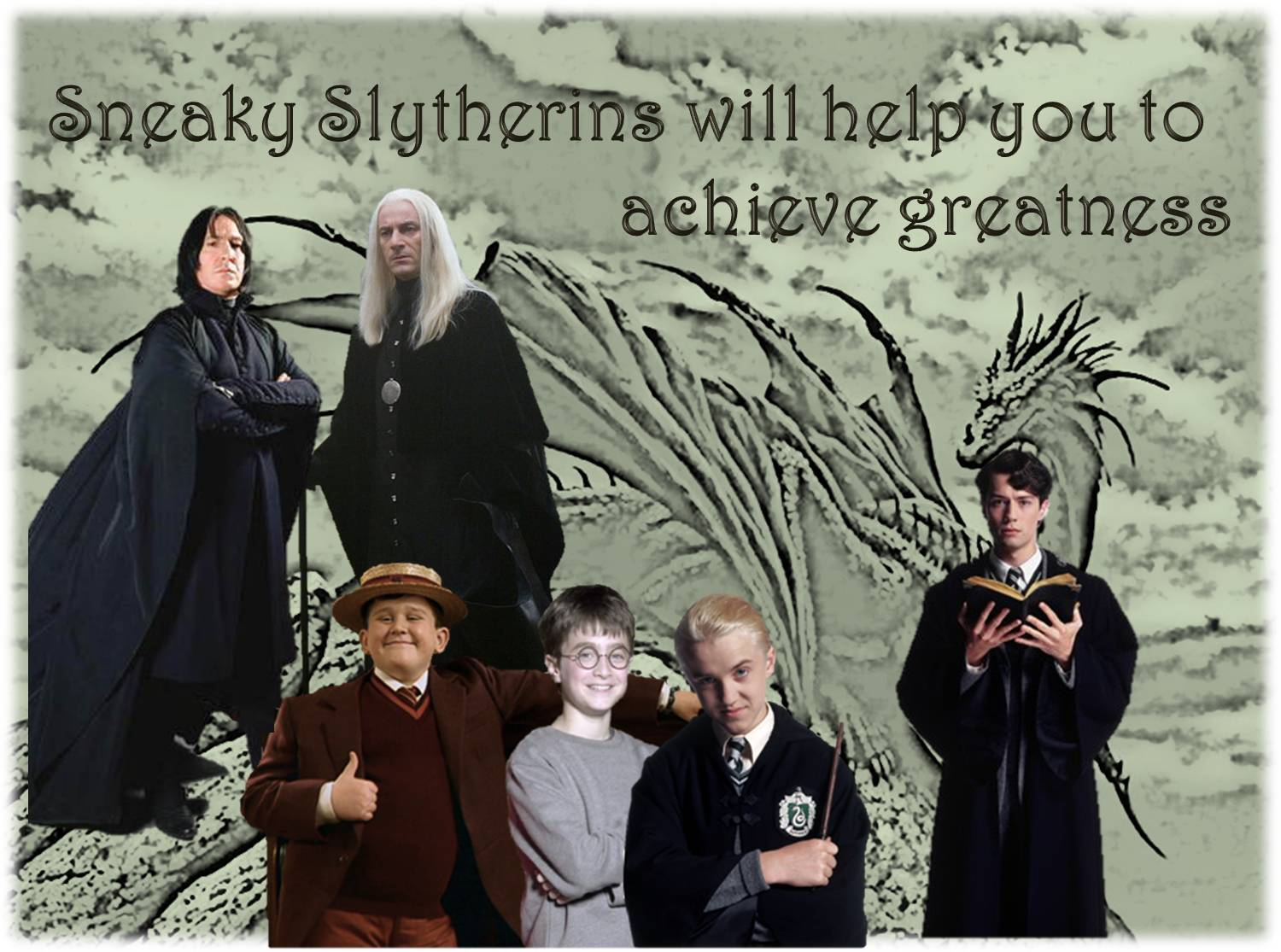 Fanfiction worth re-reading: 3 Slytherin Marauders (Harry