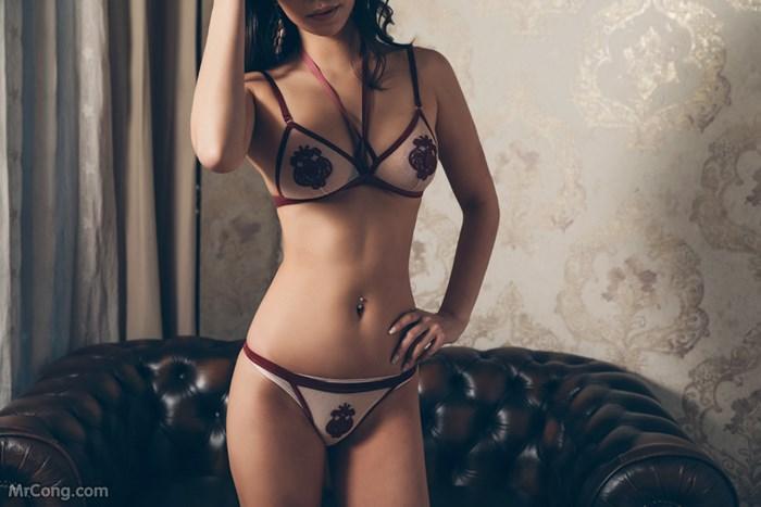 Image Kwon-Soo-Jung-MrCong.com-095 in post Người đẹp Kwon Soo Jung đầy mê hoặc trong bộ sưu tập nội y (134 ảnh)