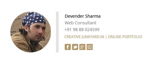 Company Email Signature Design