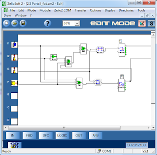 Screenshot 6 : Zelio Soft 2 | Softwares PLC
