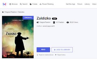 Zaldizko Web Novel