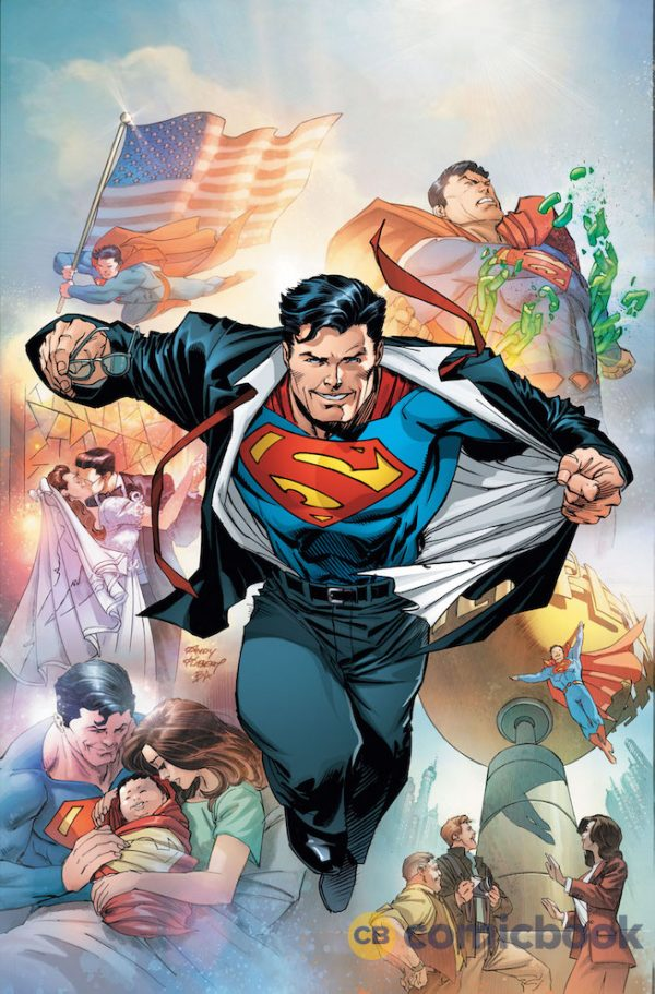 DC Comics Gives Superman Costume New Look In Upcoming Comic Book.