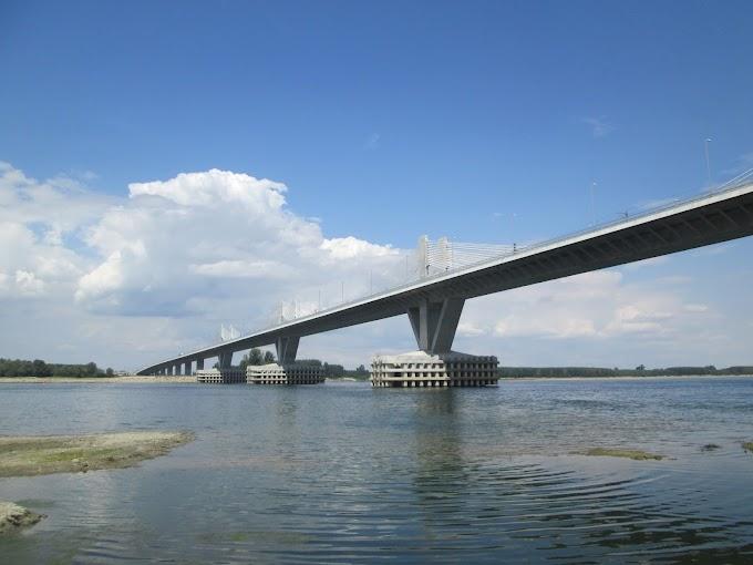 Podul Calafat-Vidin (Podul Noua Europă) FOTO/19.08.2015