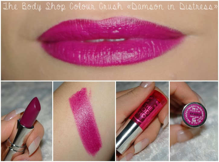 The Body Shop Colour Crush Damson In Distress swatch