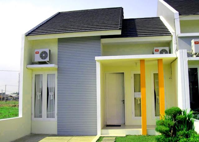 gambar model teras rumah type 36