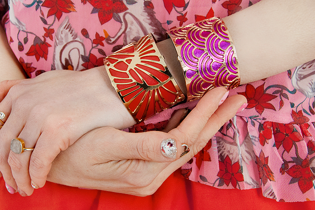 Les Georgettes,interchangeable bangle, innovation