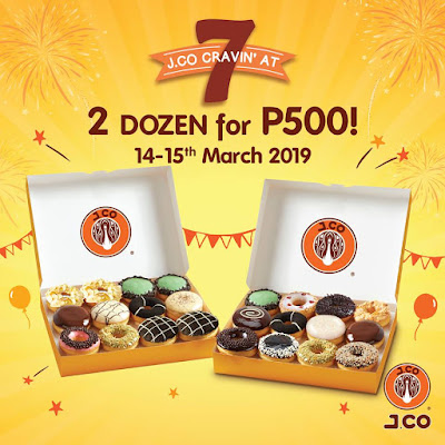 Manila Shopper: J.Co 7th Anniv Buy1 Get1 Dozen Promo ...