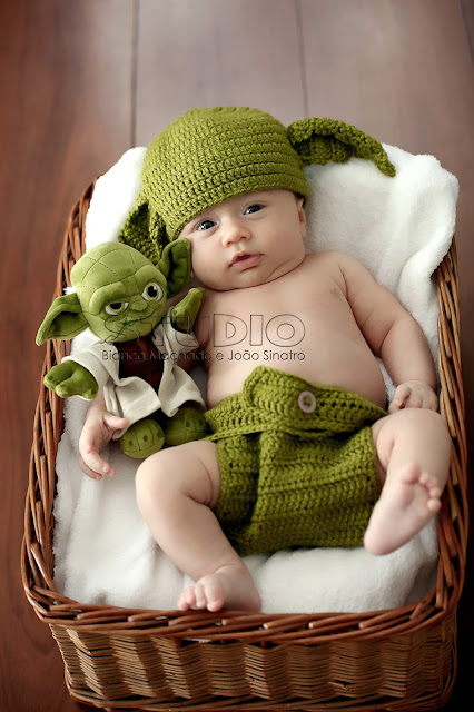 newborn do Mestre Yoda