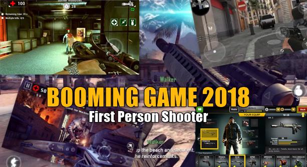Game FPS Android Yang Lagi Booming di Tahun 2018, Wajib Punya Nih Guys !!