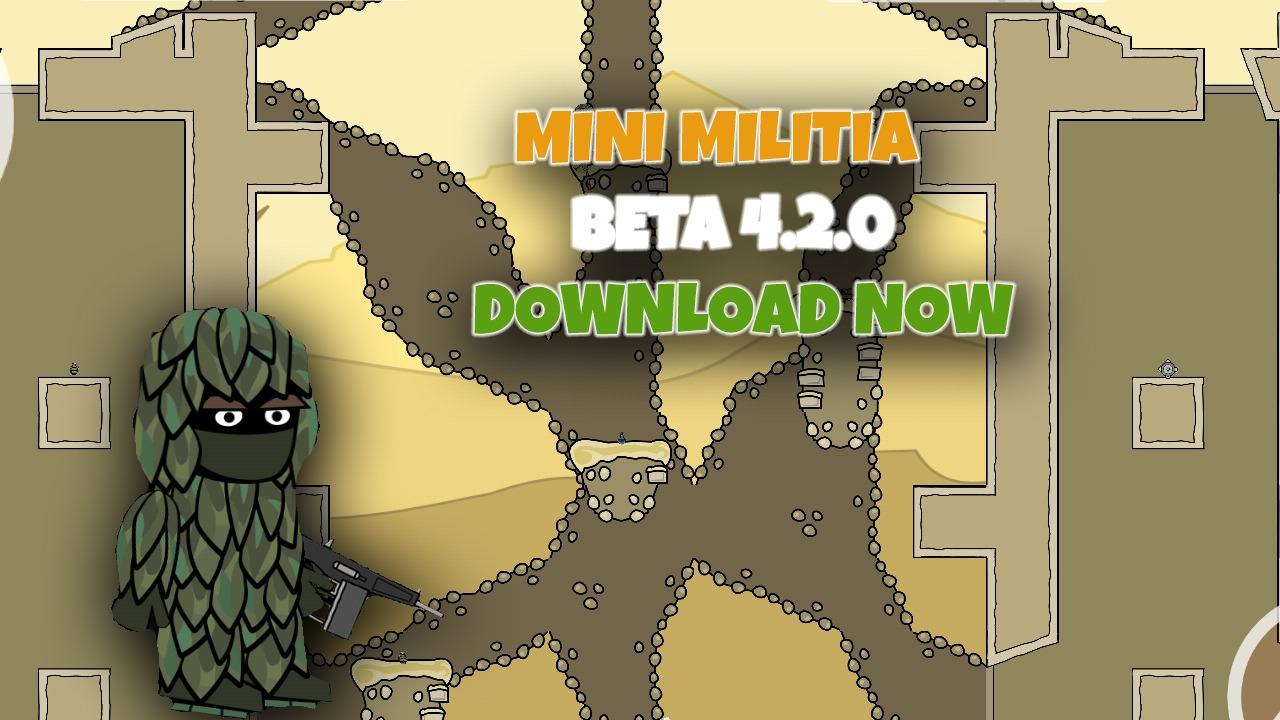 Mini Militia New Beta Version 420 New Avatars New Maps New