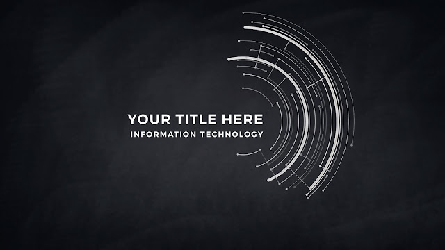 Technical Title and Background Free PowerPoint Template Slide 4