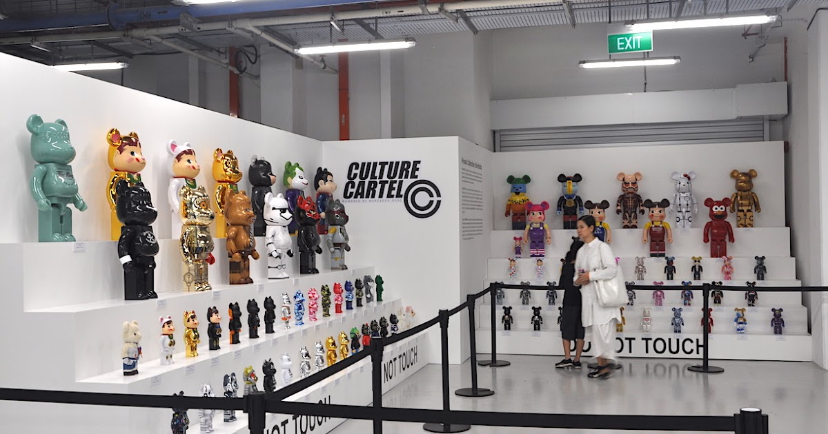 ab90df54f Private Collection: BE@RBRICK - Seen @ Culture Cartel 2018