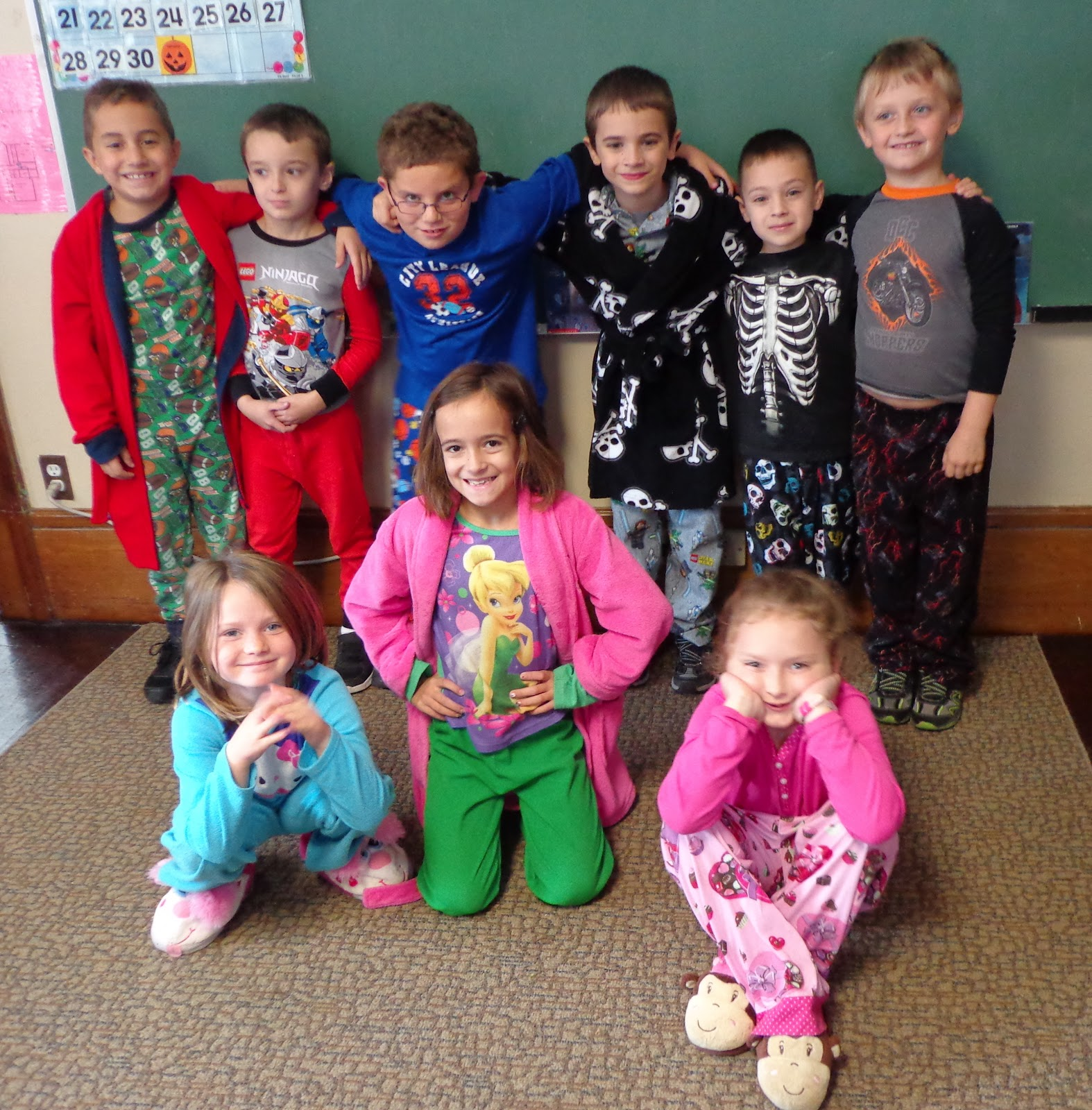 Antioch School News Pajama Day