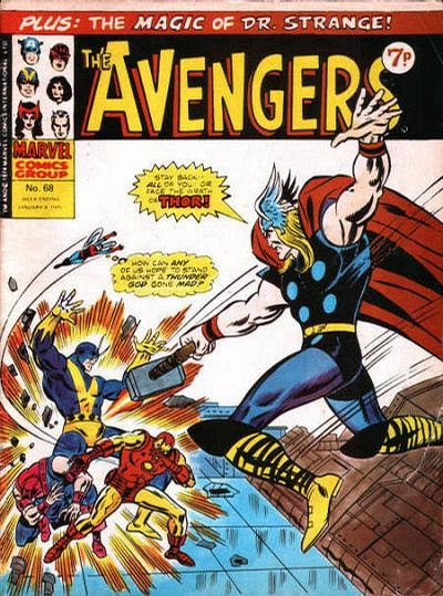 Marvel UK, The Avengers #68